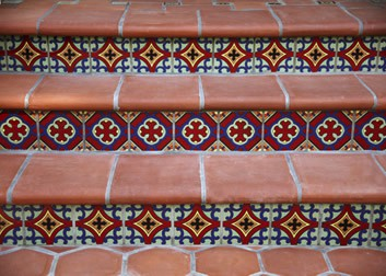 Hand Painted Tile Huntington Beach CA
